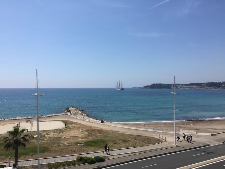 Appt vue mer, Six Fours les plages, Lônes - Sanary