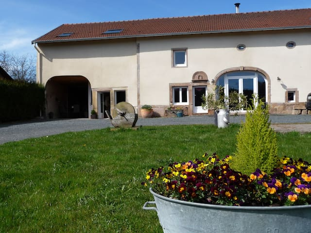 Gite cosy dans une ancienne ferme - Pierrepont-sur-l'Arentèle