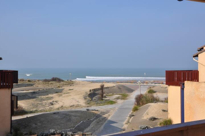 Appartement au calme dans une residence au bord de la plage - 2451