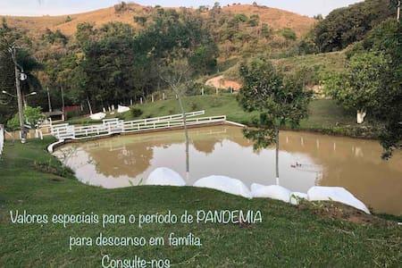 """Casa de campo Joaquim Egídio  """"Sítio São Joaquim"""""""