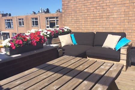 Beautiful 2p apt with an amazing roof terrace! - Amsterdam