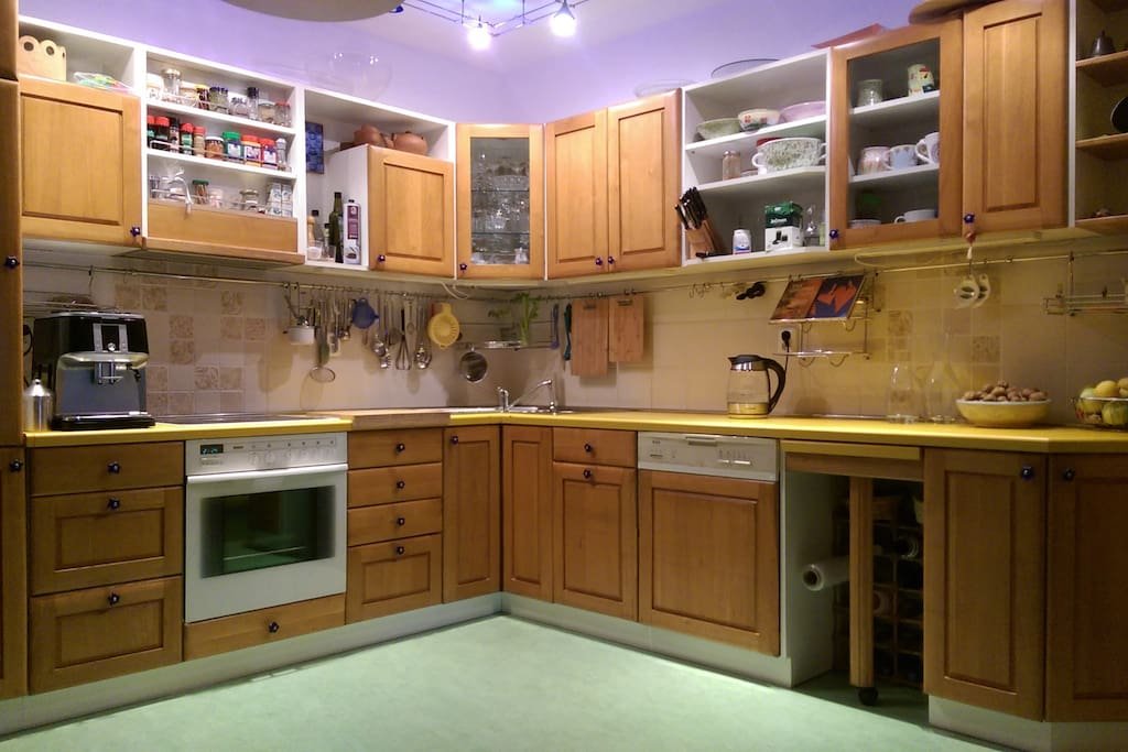 Owners' kitchen
