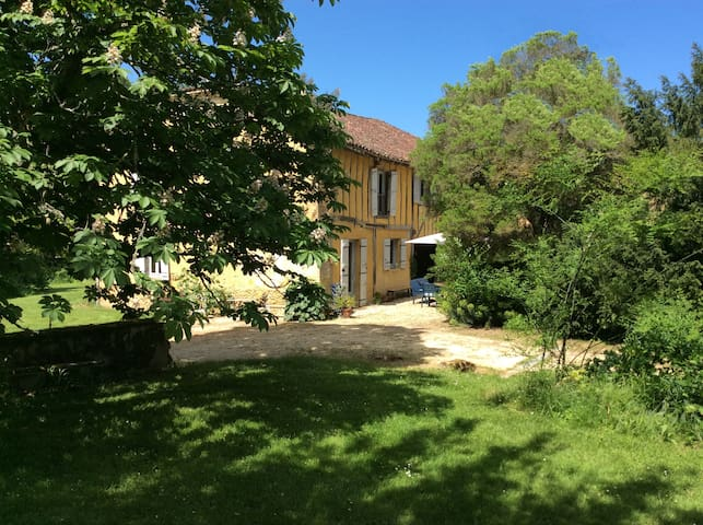 charming gascony house with pool - Cazaubon - Hus