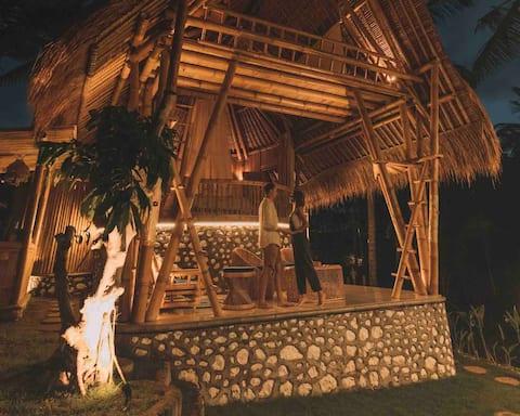 La Royale Romantic BAMBOO villas n Sunset views🎋☀️