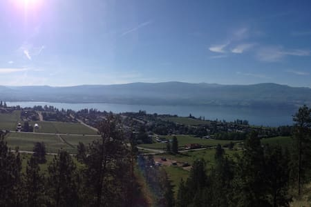 Private Oasis with a million $ view - West Kelowna