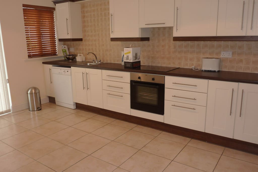 Clean Modern Kitchen with All New Appliances