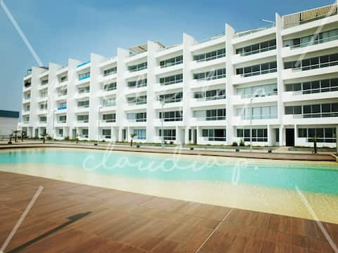 Flat de Playa - Condominio Nueva Asia