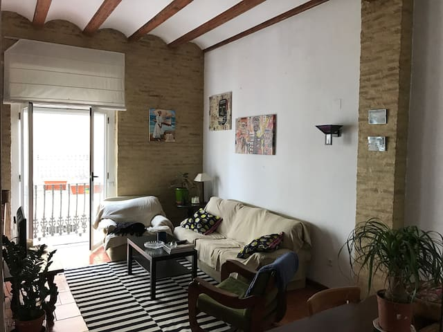 Acogedor apartamento en Ruzafa - València - บ้าน