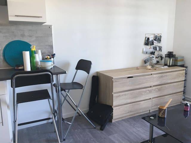 Studio calme, propre et lumineux à Montpellier - Grabels - Apto. en complejo residencial