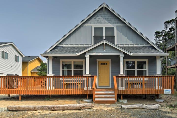 Rockaway Cottage w/Ocean View 25' to Beach Access!