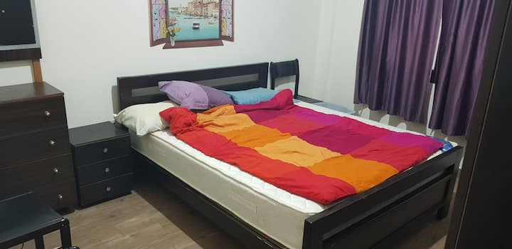Fully furnished 1bedroom apartment wifi unlimited