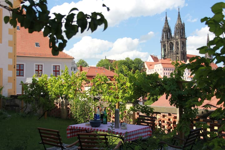 Beautifully restored holiday suite - Meißen - Leilighet
