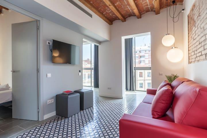 Eixample center deluxe 3 b appartamenti in affitto a for Appartamenti barcellona eixample