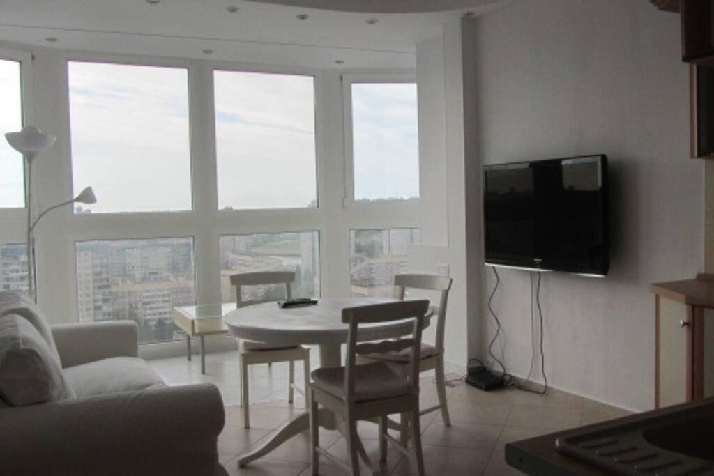 гостиная-кухня/living room-kitchen