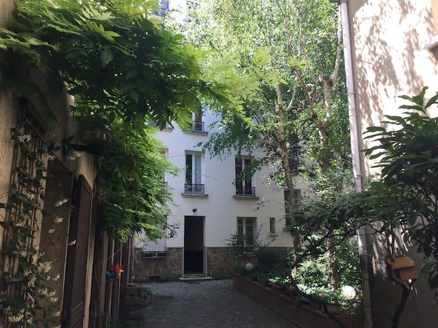 Studio à montparnasse