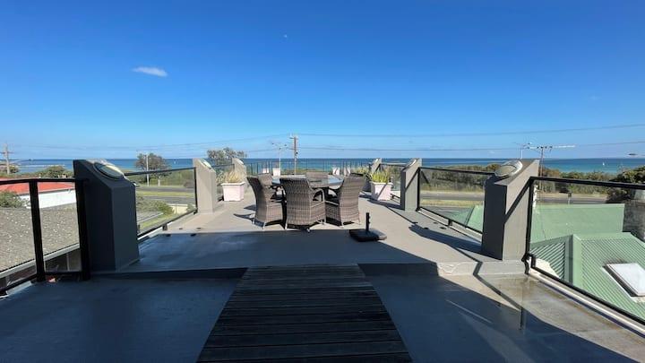 Modern 3 Level Beachfront House - 2 large Patios