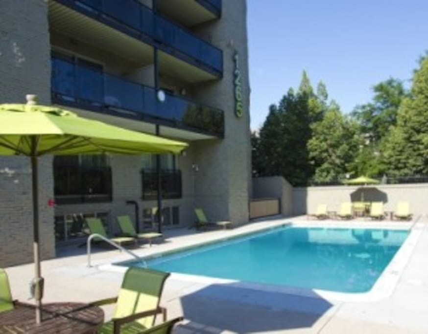 Great Pool and BBQ area!