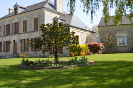 Charmante chambre d'hôtes avec piscine près Bayeux