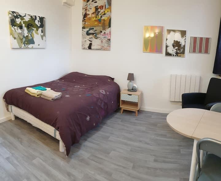chambre 14 m²  - 2 pers, avec kitchenette