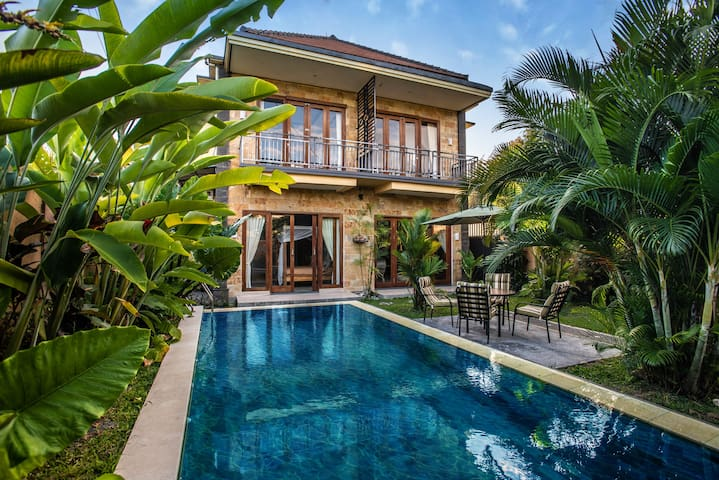 The Blue Sky House: a star starting  point in Ubud