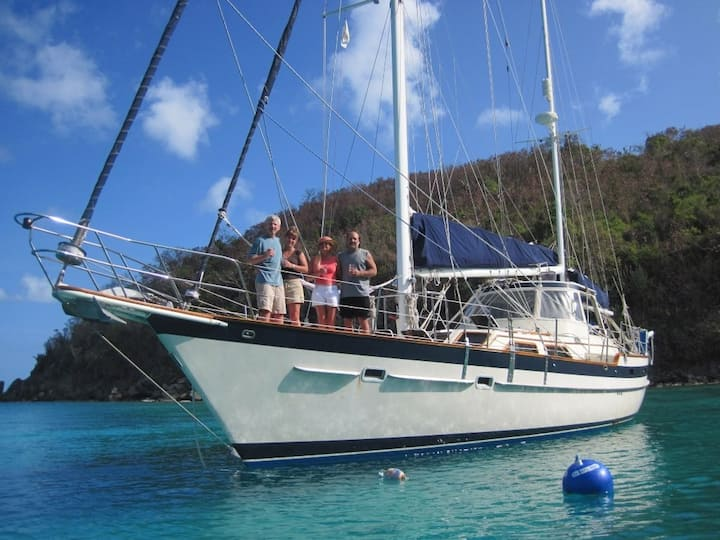 Sailing in the Grenadines & BVI & USVI 2020/2021