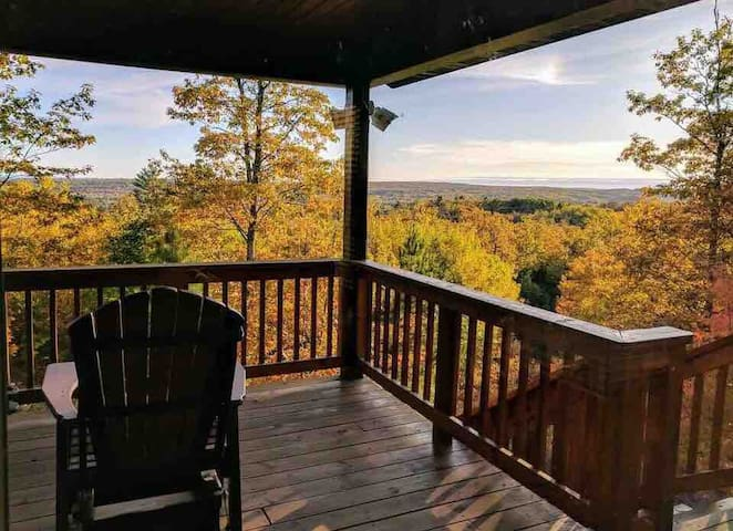 Valley Vista. Private cabin near Bayfield.3 beds