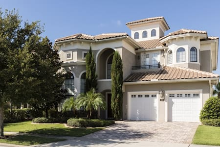 Beautiful 6 bedroom Home- reunion - Kissimmee