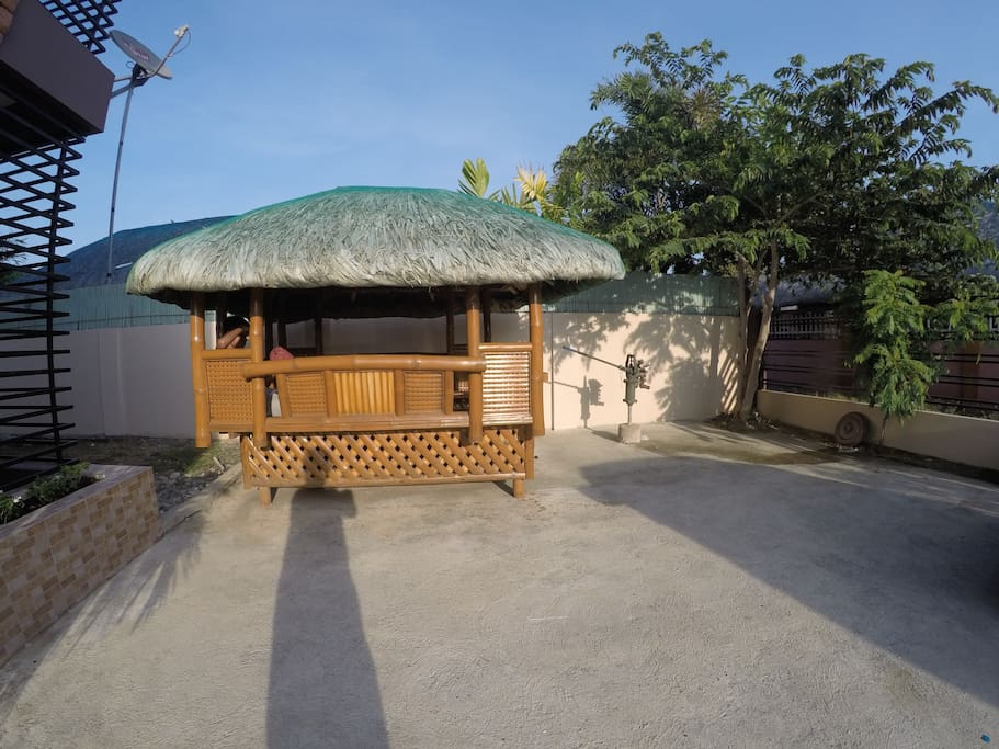 with Nipa Hut for added relaxation