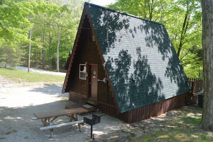 Cedar A Frame Chalet #1 on Patoka Lake S. Indiana