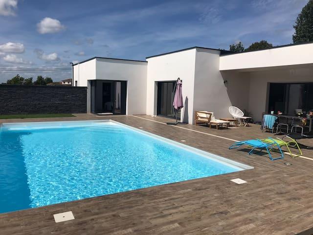Maison Samadet avec piscine