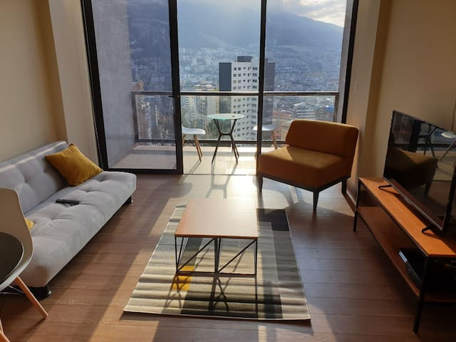 Loft con espectacular vista, Quito