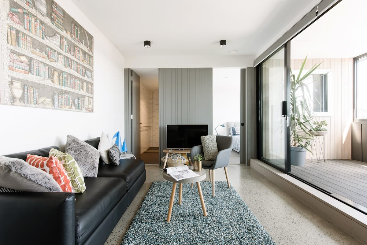 Top Floor Home in Award-Winning New Fitzroy Building