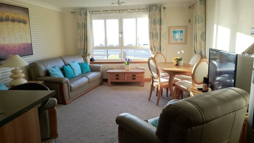 Ayr Seafront, groundfloor apartment - Ayr - Appartamento