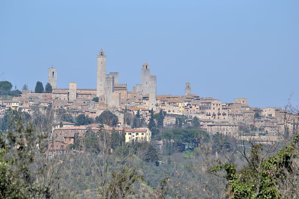 The View of San Gimignano