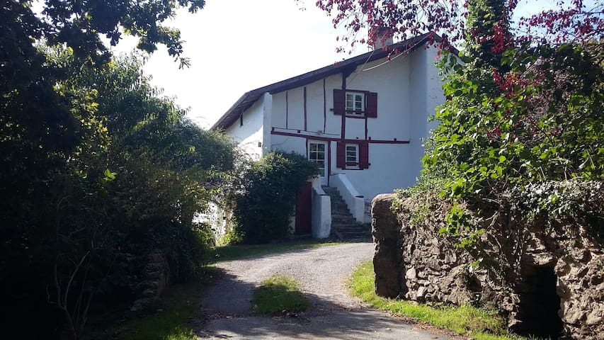 Appartement atypique dans cadre charmant - Hasparren - Wohnung