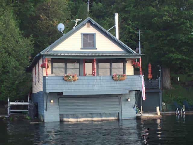Lake Bonaparte Camp