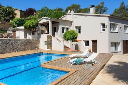 Getaway Sitges hills with big pool - Olivella