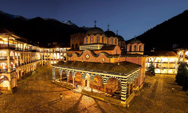 Unique experience to sleep in Rila Monastery