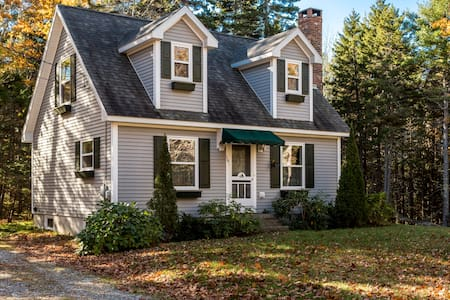 2BR, 2BA Paradise Point Road Cottage in East Boothbay - East Boothbay - Cabane