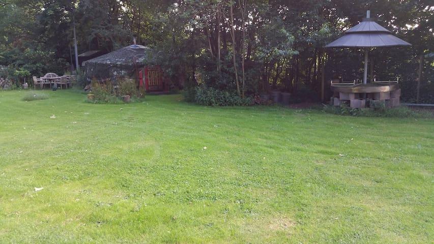 Yurt aan de bosrand - Loenen