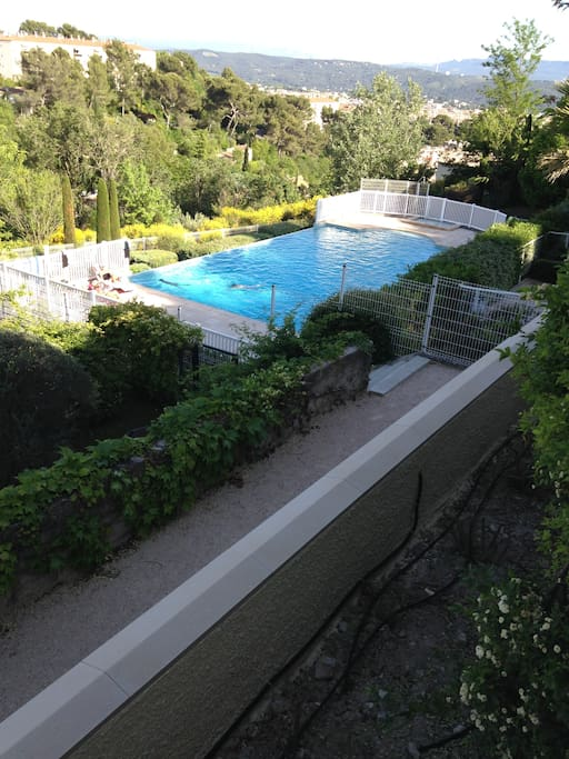 Studio dans r sidence avec piscine apartments for rent for La piscine translation