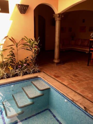Casa Marimba, plunge pool (NEW:  10% DISCOUNT)