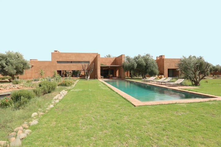 Luxury House in the heart of an olive grove - Marrakesh - Casa de camp