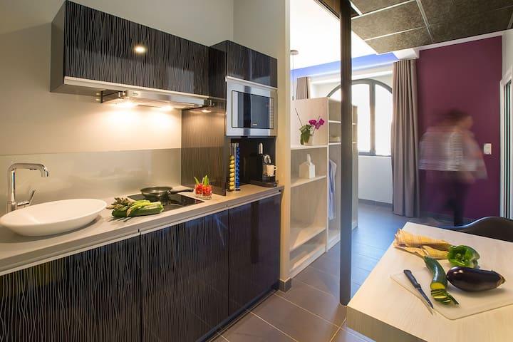 Beau studio cœur de la bastide - Villefranche-de-Rouergue - Apartment