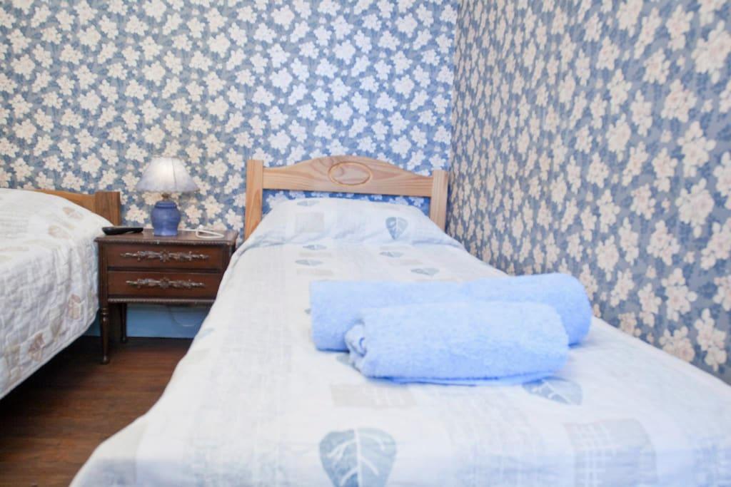 Habitaciòn doble con camas separadas