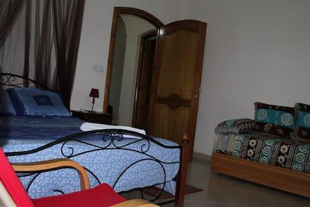 Chambre bleue - Villa Mispoulet - Maison