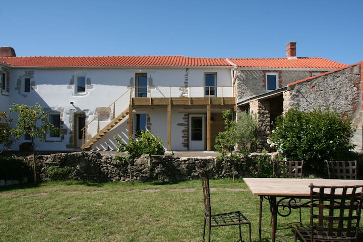 Chambres d'hôtes : chambre 1 - Bouin - Bed & Breakfast