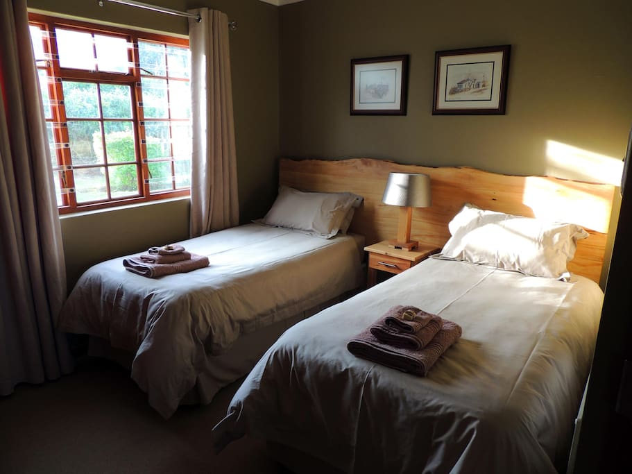 Rooms are fitted with 2 x single beds or 1 x king size