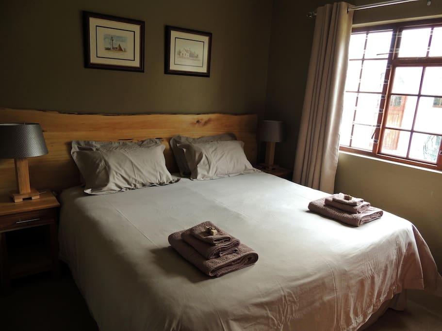 Rooms include linen and towels