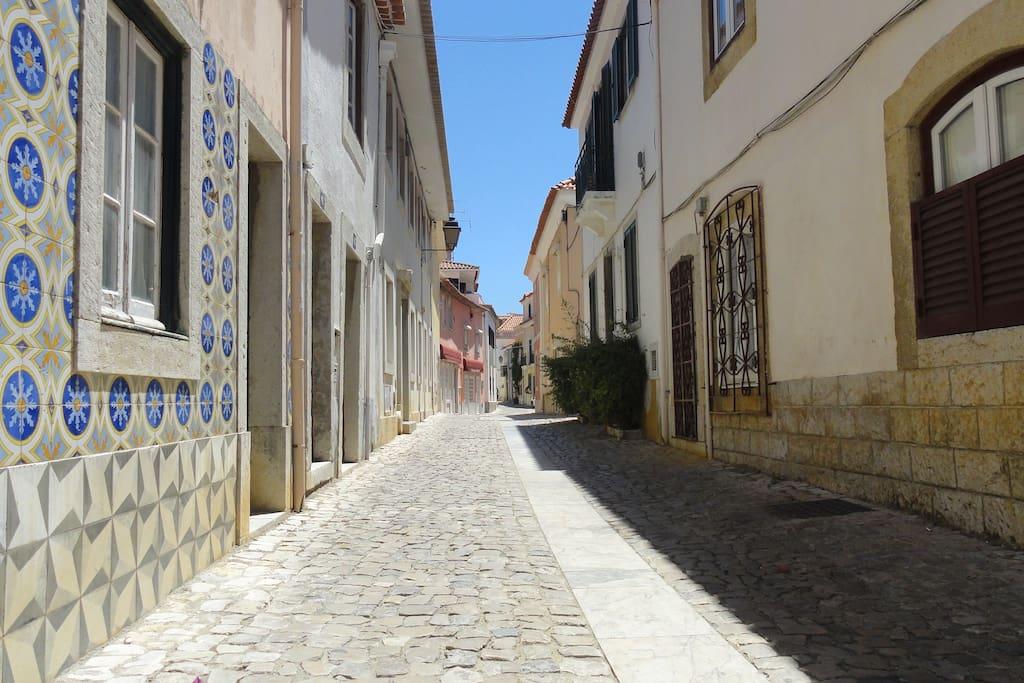 Rua dos Navegantes.